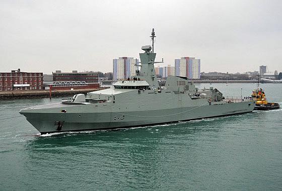 Корвет проекта «Кариф» ВМС Омана.