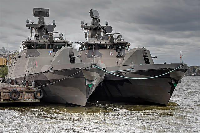 Финские ракетные катера Hanko и Tornio типа Hamina (c)