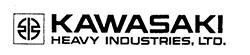 Логотип Kawasaki Heavy Industries, Ltd.
