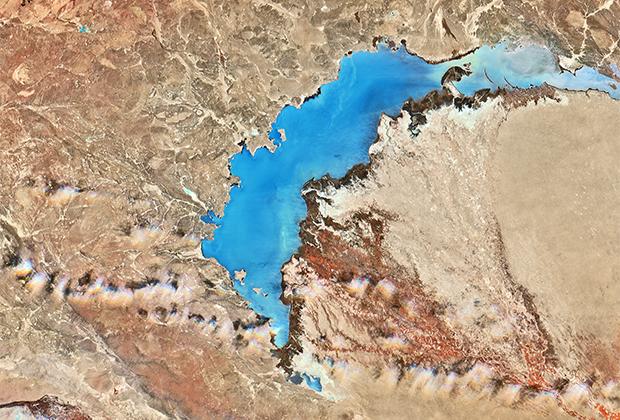 Казахстан, озеро Балхаш.