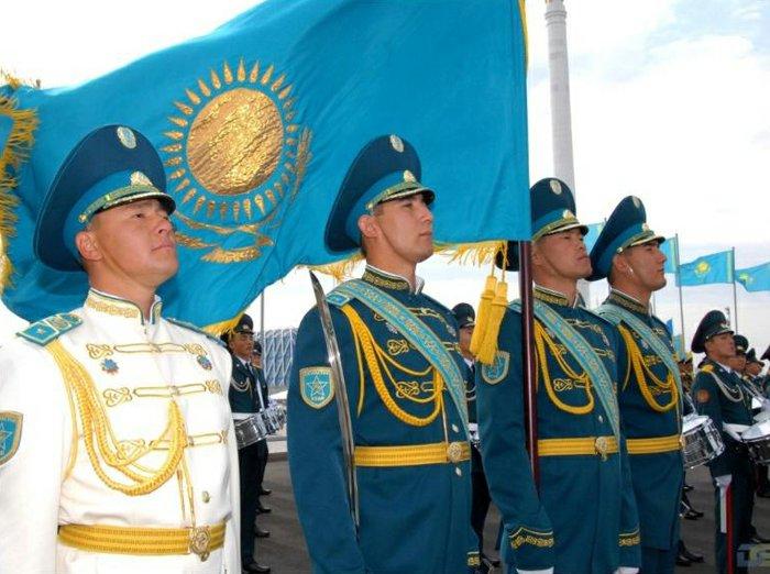 Казахстанская армия. Источник: thenews.kz.