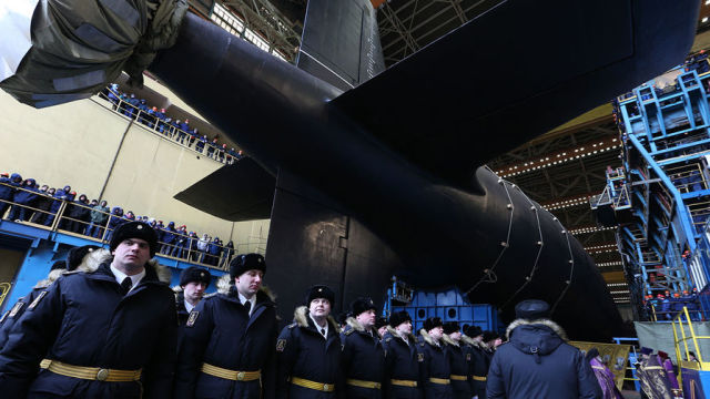 """Атомный подводный крейсер """"Казань"""""""