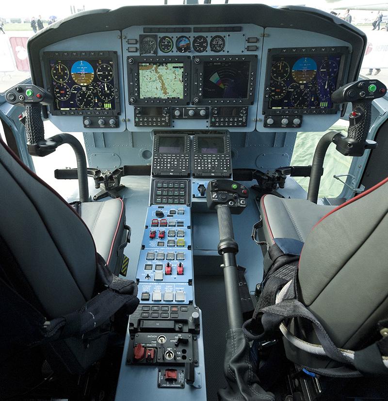 Комплекс бортового оборудования КБО-62 предназначен для использования на многоцелевом вертолете Ка-62.