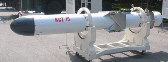 Макет ракеты KCT 15