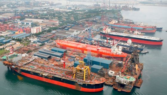 Keppel Shipyard