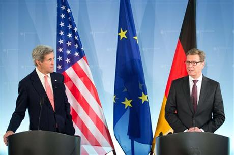John Kerry and Guido Westerwelle