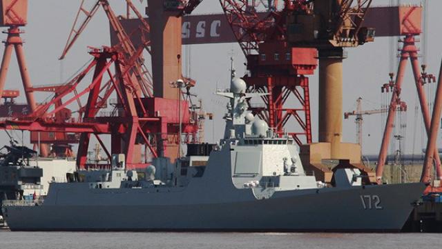 Китай увеличивает свои ВМС рекордными темпами