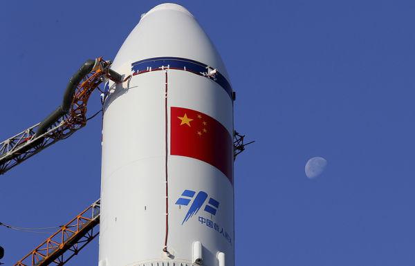 """Ракетоноситель Чанчжэн-7 с грузовым космическим кораблем """"Тяньчжоу-1"""""""