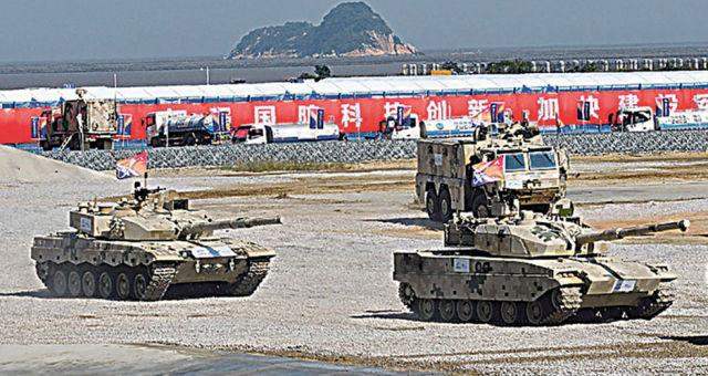 Китайская бронетехника