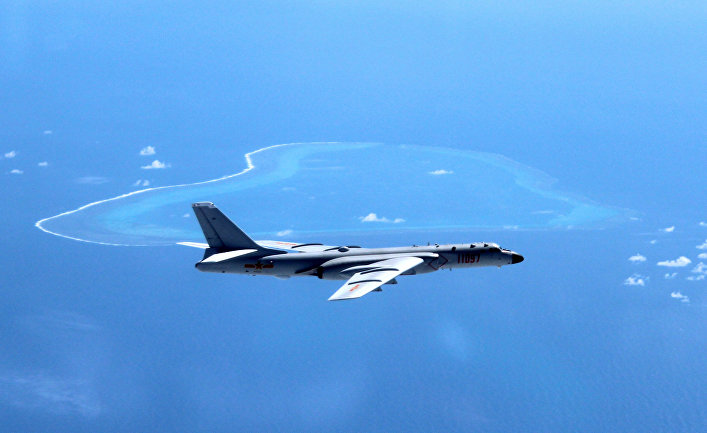 Китайский бомбардировщик Xian H-6K.