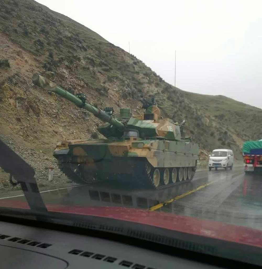 Китайский легкий танк.