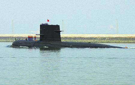 Китайский подводный флот способен конкурировать с флотами ведущих мировых ядерных держав. Фото Reuters