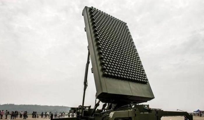 Фазированная матрица китайского радара.