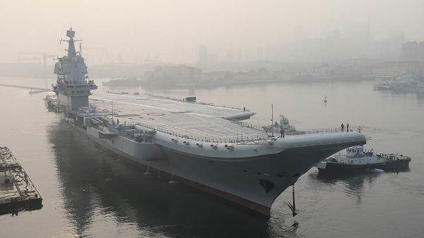 "Китайский авианосец ""Тип 001А"""