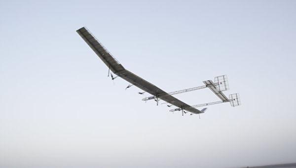 Китайский беспилотник на солнечных батареях
