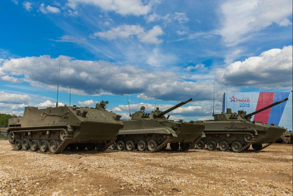 Бронетехника Курганмашзавода на Армия-2015.