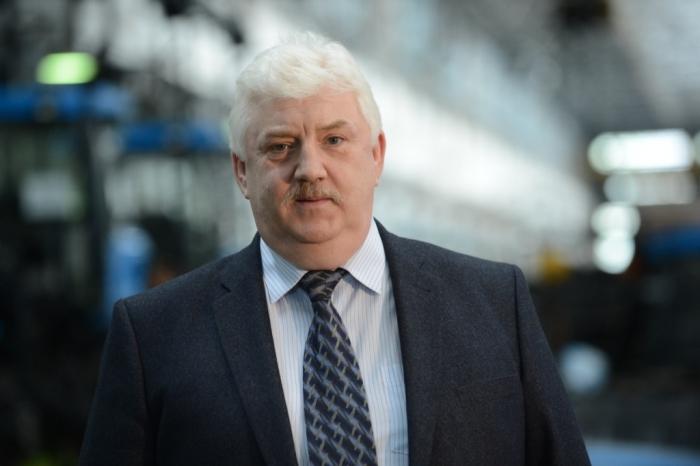 Исполнительный директор ООО «ВМК «Волгоградский тракторный завод» Александр КЛЮЖЕВ.