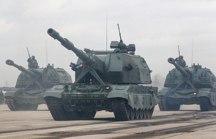 """Артиллерийское орудие """"Коалиция-СВ""""."""