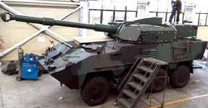 Колесный танк