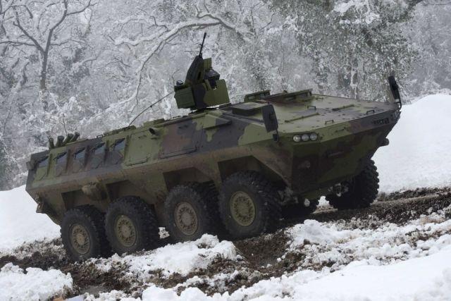 Колесные бронетранспортеры Lazar 3