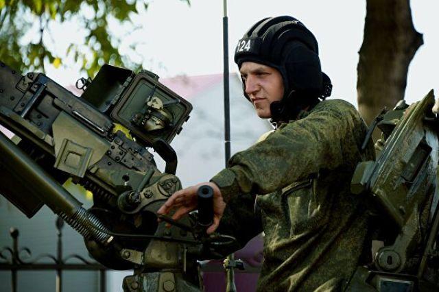 Командир танка Т-72Б3