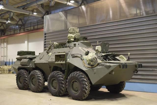 Командно-наблюдательная машина комплекса 1В198