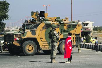 Командование турецких Вооруженных сил сотрудничает с исламистскими группировками, признанными террористическими в разных странах. Фото Reuters