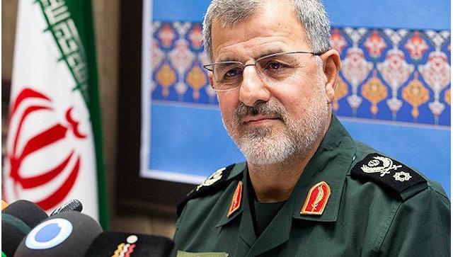 Командующий сухопутными силами иранского КСИР Мохаммад Пакпур. Архивное фото.