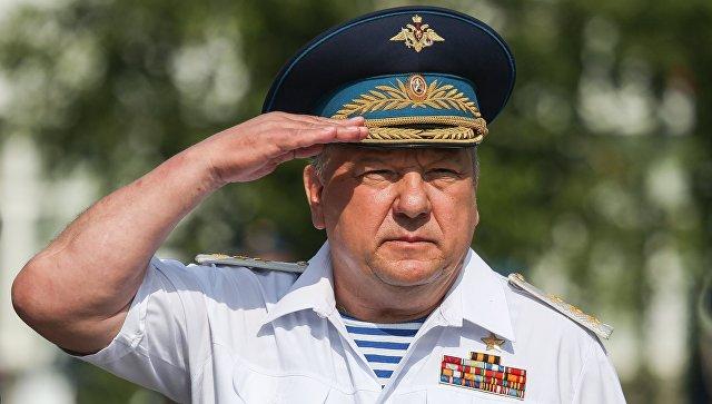 Командующий Воздушно-десантными войсками РФ, генерал-полковник Владимир Шаманов. Архивное фото.