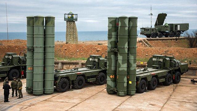 Комплекс ПВО С-400 Триумф.