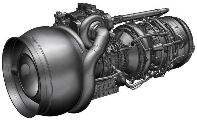 Концепт газотурбинного двигателя FATE