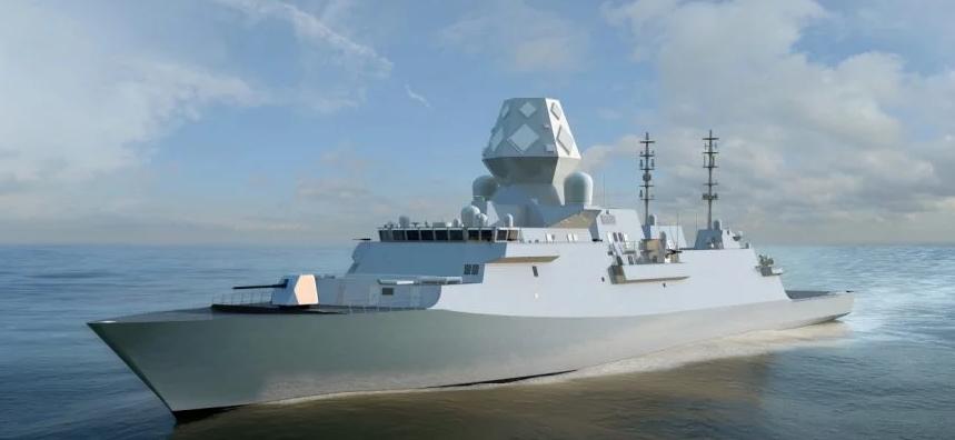 Концепт фрегата Тип 26 (Type 26 Global Combat Ship).