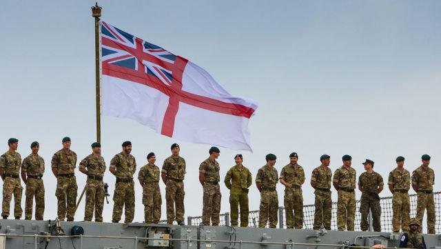 Военнослужащие ВС Великобритании