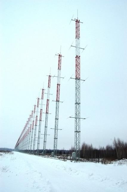 """Радиолокационная станция загоризонтного обнаружения """"Контейнер"""""""