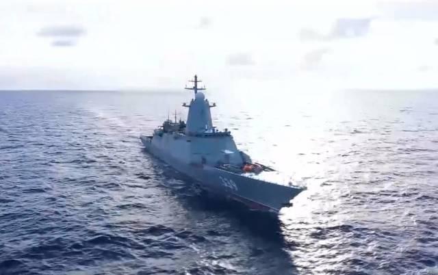 """Корабль проекта 1155 """"Маршал Шапошников"""""""