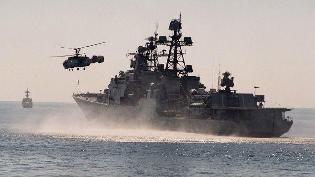 """Корабль ТОФ """"Адмирал Трибуц"""""""