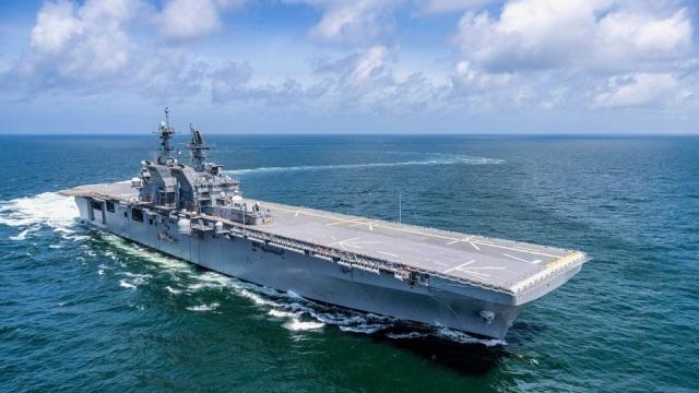 Корабль Tripoli (LHA 7)
