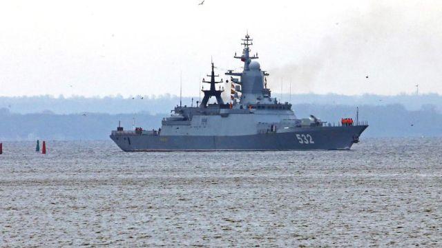 """Корабль """"Неустрашимый"""" проекта 11540"""