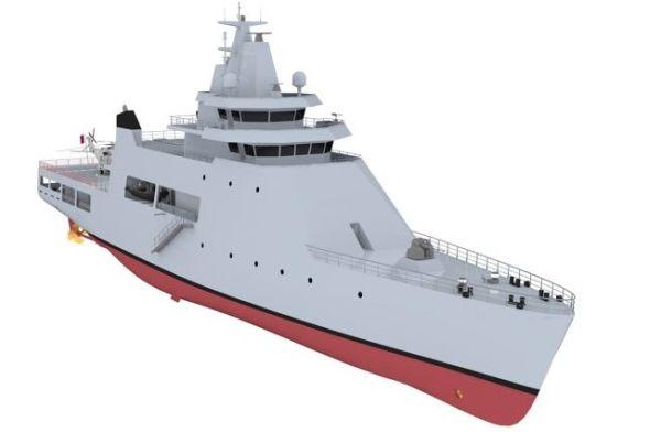Корабль проекта CTS