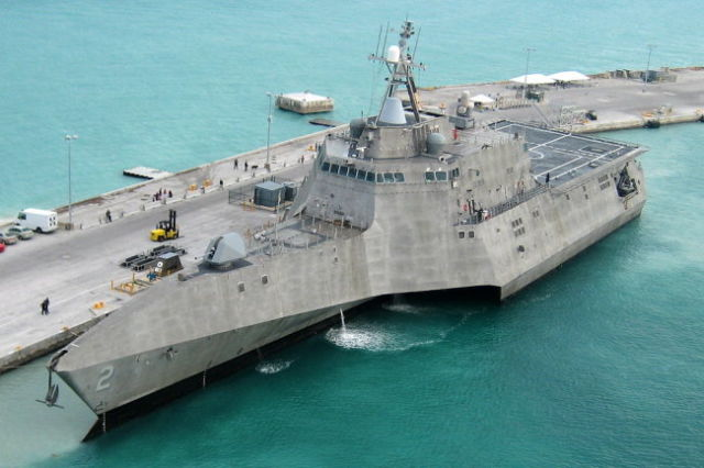 Корабль проекта Littoral Combat Ship (LCS)