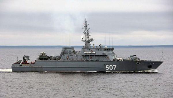 Корабль противоминной обороны Иван Антонов. Архивное фото