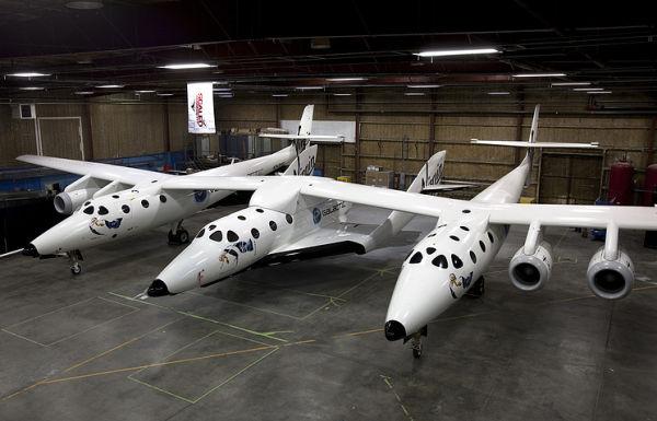Корабль SpaceShipTwo компании Virgin Galactic