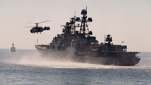 """Корабль ТОФ """"Адмирал Трибуц"""". Архивное фото"""