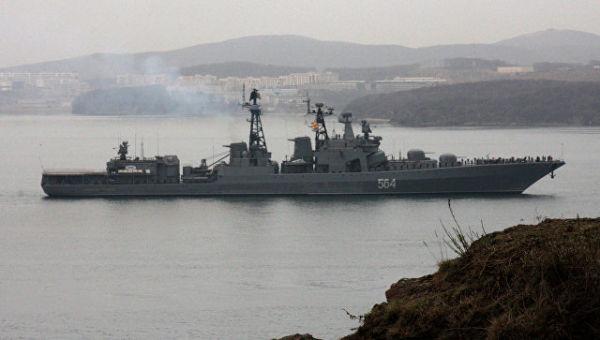 Корабль ТОФ. Архивное фото
