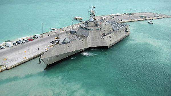 Корабль ВМС США USS Independence