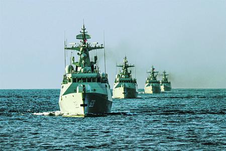 Кораблестроительная программа Пекина достигла своей высшей точки. Фото с сайта www.chinamil.com.cn