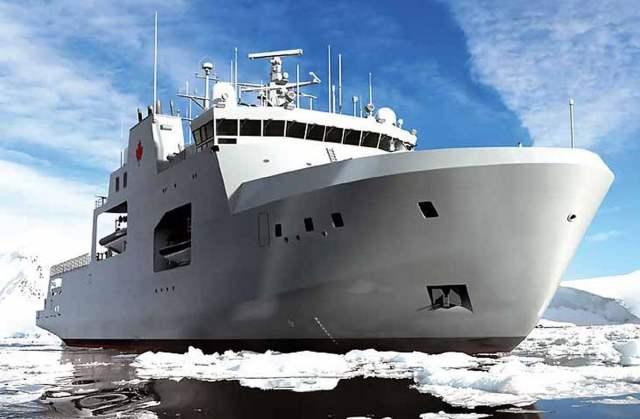 """Корабли арктической зоны типа """"Гарри Девольф"""" ВМС Канады"""