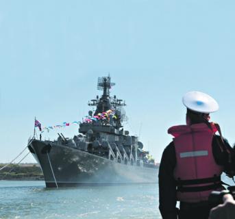 Корабли проекта 1164 «Атлант», несмотря на возраст, представляют серьезную военную угрозу флотам НАТО. Фото Reuters