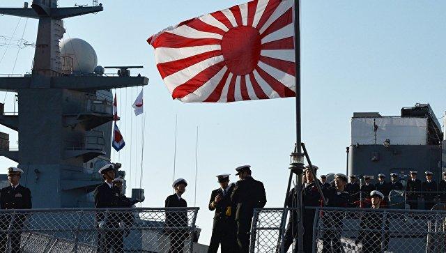 Корабли морских сил самообороны Японии во Владивостоке.