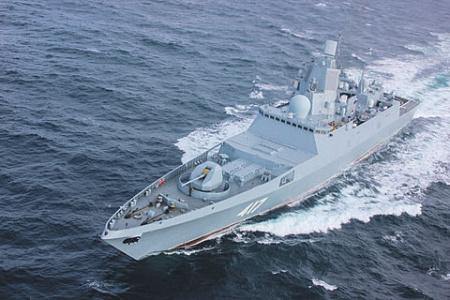 Корабли проекта 22350 считаются одними из лучших в своем классе. Фото с сайта www.mil.ru